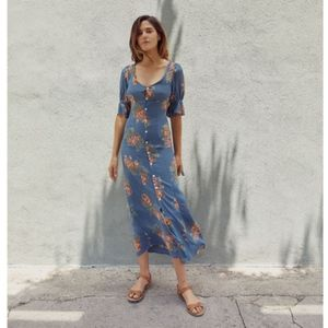 NWT Christy Dawn Lennon Dress Ocean Rose Size Sm